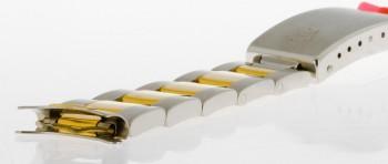 Rolex 17mm Oysterband Stahl 18kt Gelbgold Ref. 78053