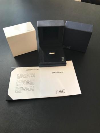 PIAGET Possession Ring Weißgold einreihig mit Diamanten besetzt neu (2017)
