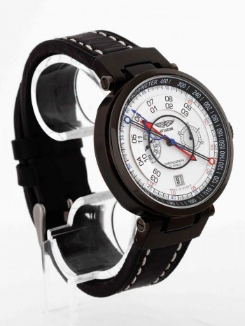 Aviator Hi-Tech Sturmanskie Limited Edition Edelstahl an Leder Ref. 3133-2704633
