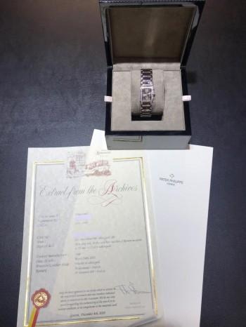 Patek Philippe Twenty 4 Diamond 18 K Weißgold Ref. 4908/200