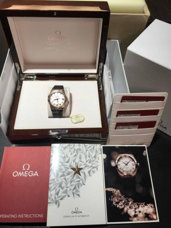 Omega Constellation Men Co-Axial Limited Edition Rosegold Ref. 12353382102001