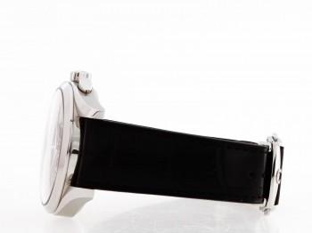 Omega Seamaster Chrono an schwarzem Lederband Ref. 28125037