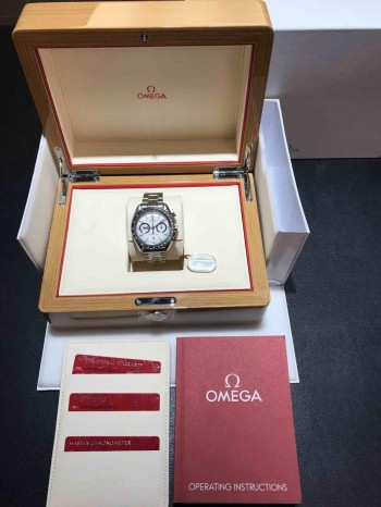Omega Speedmaster Racing Chronograph Co-Axial Edelstahl Ref. 32930445104001
