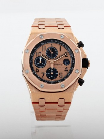 Audemars Piguet Royal Oak Offshore Chronograph 18 K Roségold Ref. 26470OR.OO.10000OR.01
