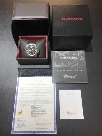 Chopard Superfast Chrono an schwarzem Kautschukband Ref. 168523