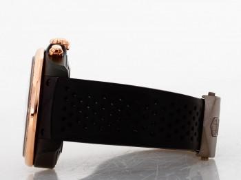 Tag Heuer Grand Carrera mit schwarzem Kautschukband Ref. CAV518E