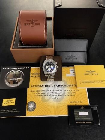 Breitling Chronomat 44 Chronograph Edelstahl Ref. AB042011 / BB56