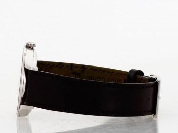Nomos Glashütte Minimatik an schwarzem Lederband Ref. 1203