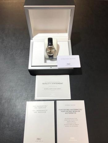 IWC Portofino Midsize Edelstahl mit Diamanten Ref. IW458103