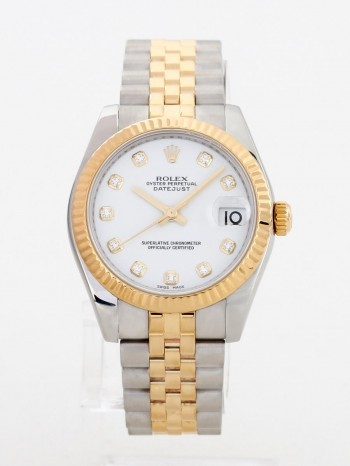 Rolex Datejust Medium 31 aus 18 K Gold / Edelstahl Ref. 178273
