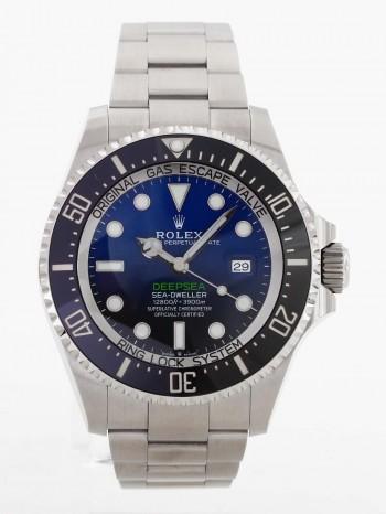 Rolex Oyster Perpetual Deepsea Blue Ref. 126660 LC100+orig.Rechnung