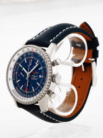 Breitling Navitimer World an Lederband Ref. A2432212