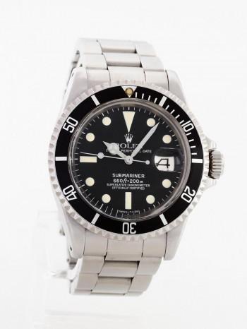 Rolex Submariner Date Fullset Unpoliert LC100 Ref. 1680