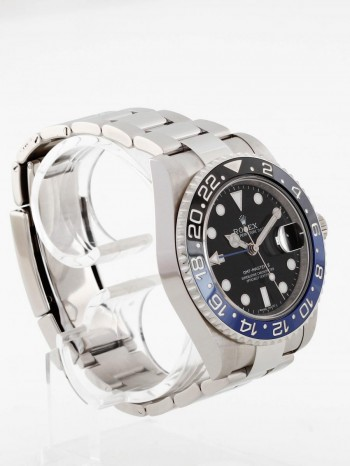 "Rolex Oyster Perpetual GMT-Master II ""Batman"" Ref. 116710BLNR - B/P 2017 (LC100)"