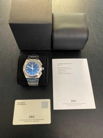 IWC Ingenieur Chronograph FULL SET Ref. IW372501