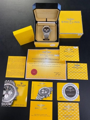 Breitling Navitimer 50th Anniversary FULL SET Ref. A41322