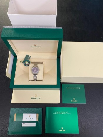 Rolex Oyster Perpetual Lady 26mm FULL SET Ref. 176200
