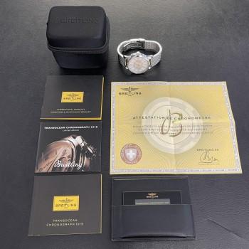 Breitling Transocean Chronograph FULL SET Ref. AB141112