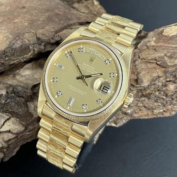 Rolex Day-Date 36mm Borke FULL SET LC100 Ref. 18078