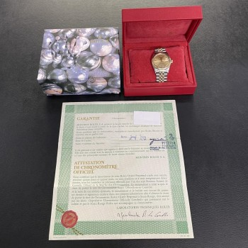 Rolex Datejust 36mm Box+Papiere LC100 Ref. 1601