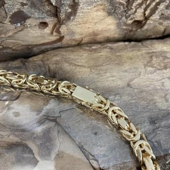 18kt Gelbgold Königskette
