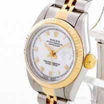 Rolex Oyster Perpetual Datejust Lady Edelstahl/18 K Gelbgold Ref. 69173