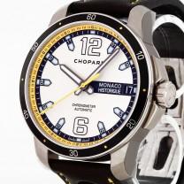 Chopard Grand Prix de Monaco Historique Titan an Lederband Ref. 168568-3001 ungetragen