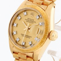 Rolex Oyster Perpetual Datejust Lady 26mm Gelbgold Borke Ref. 6927