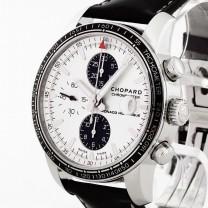 Chopard Grand Prix de Monaco Historique Edelstahl an Lederband Ref. 168992-3012 Fullset