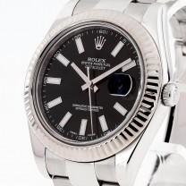 Rolex Oyster Perpetual Datejust II Edelstahl Ref. 116334