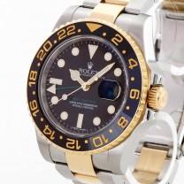 Rolex Oyster Perpetual GMT-Master II Edelstahl/Gelbgold Ref.116713LN