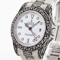 Rolex Oyster Perpetual Explorer II with engraving Ref. 16570