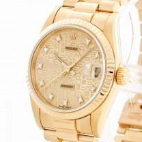 Rolex Oyster Perpetual Datejust Medium Gelbgold Ref. 68278