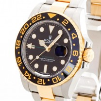 Rolex Oyster Perpetual GMT II stainless steel / gold Ref. 116713LN