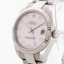 Rolex Oyster Perpetual Datejust 31 with diamond dial Ref. 178274