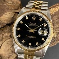 Rolex Datejust 36 Diablatt ST/G Ref. 16233
