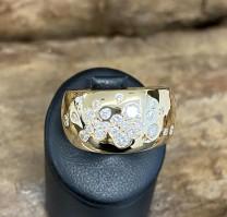 Wempe Ring 18k Gelbgold mit 0,70ct Diamanten