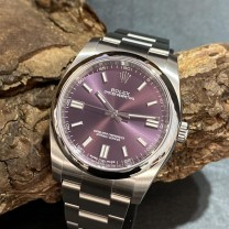 Rolex Oyster Perpetual Red Grape LC100 Ref.116000