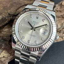 Rolex Datejust II FULL SET LC100 Ref. 116334