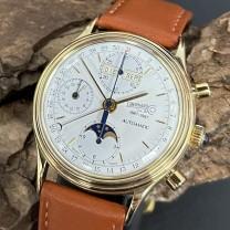 Eberhard & Co Edition d'anniversaire limitée Automatik Chronograph 354 von 699