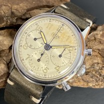 Heuer Pre-Carrera Vintage Valjoux 72 - Big Eye - Chronograph Ref. 2913
