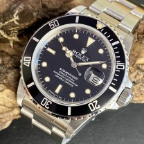 Rolex Submariner Date Vintage - Fullset Ref. 168000