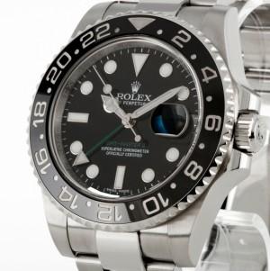 Rolex Oyster Perpetual GMT-Master II Edelstahl Ref. 116710LN