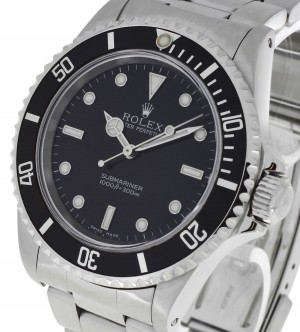 Rolex Oyster Perpetual Submariner No Date Edelstahl Ref. 14060