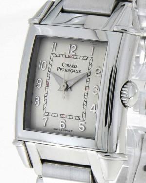 Girard Perregaux Vintage steel on steel bracelet Ref. 2591