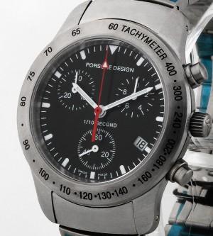 Porsche Design P10 Chrono Quarz 33.40 Stahl Ref.6604.41