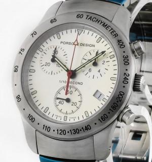 Porsche Design P10 Chronograph Quarz 33.40 Stahl 6604.41