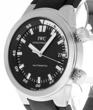 IWC Aquatimer Automatik Stahl an Kautschukband Ref.IW3548