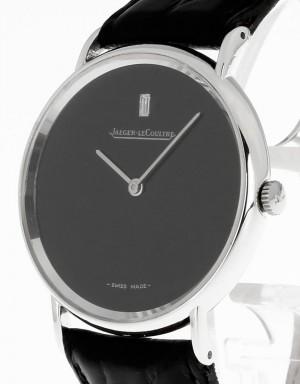 Jaeger-LeCoultre Armbanduhr Vintage Handaufzug Weißgold an Krokolederband Ref. 912322