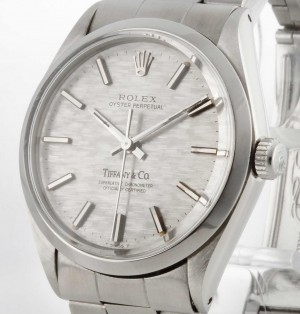 Rolex Oyster Perpetual Tiffany & Co Stahl Ref.1002